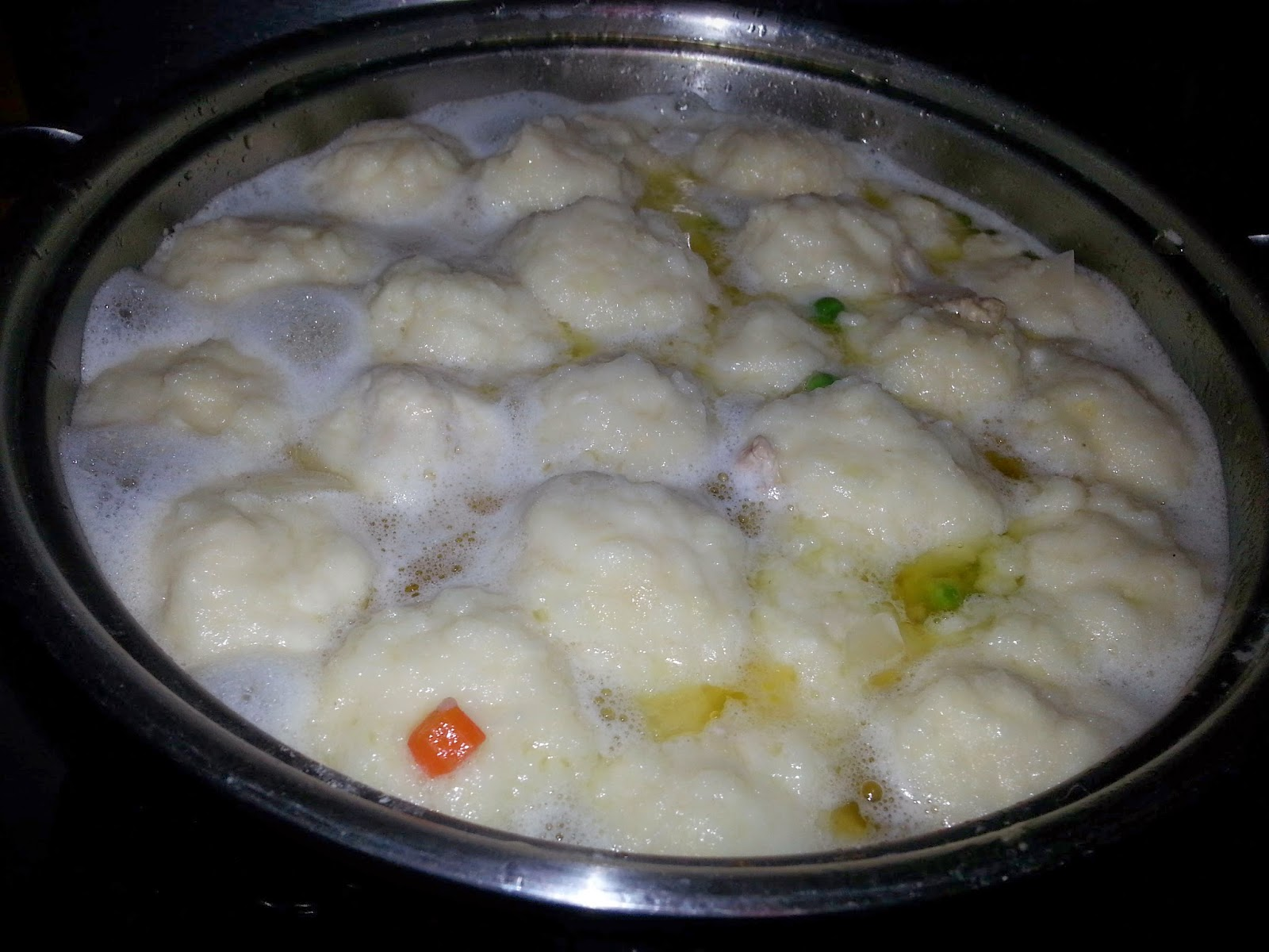 Simmering Chicken & Dumplings | Navigating Hectivity by Micki Bare