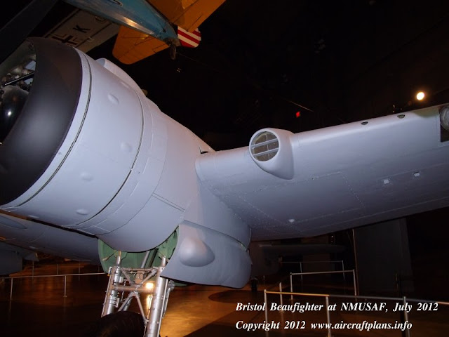 Beaufighter wing leading edge