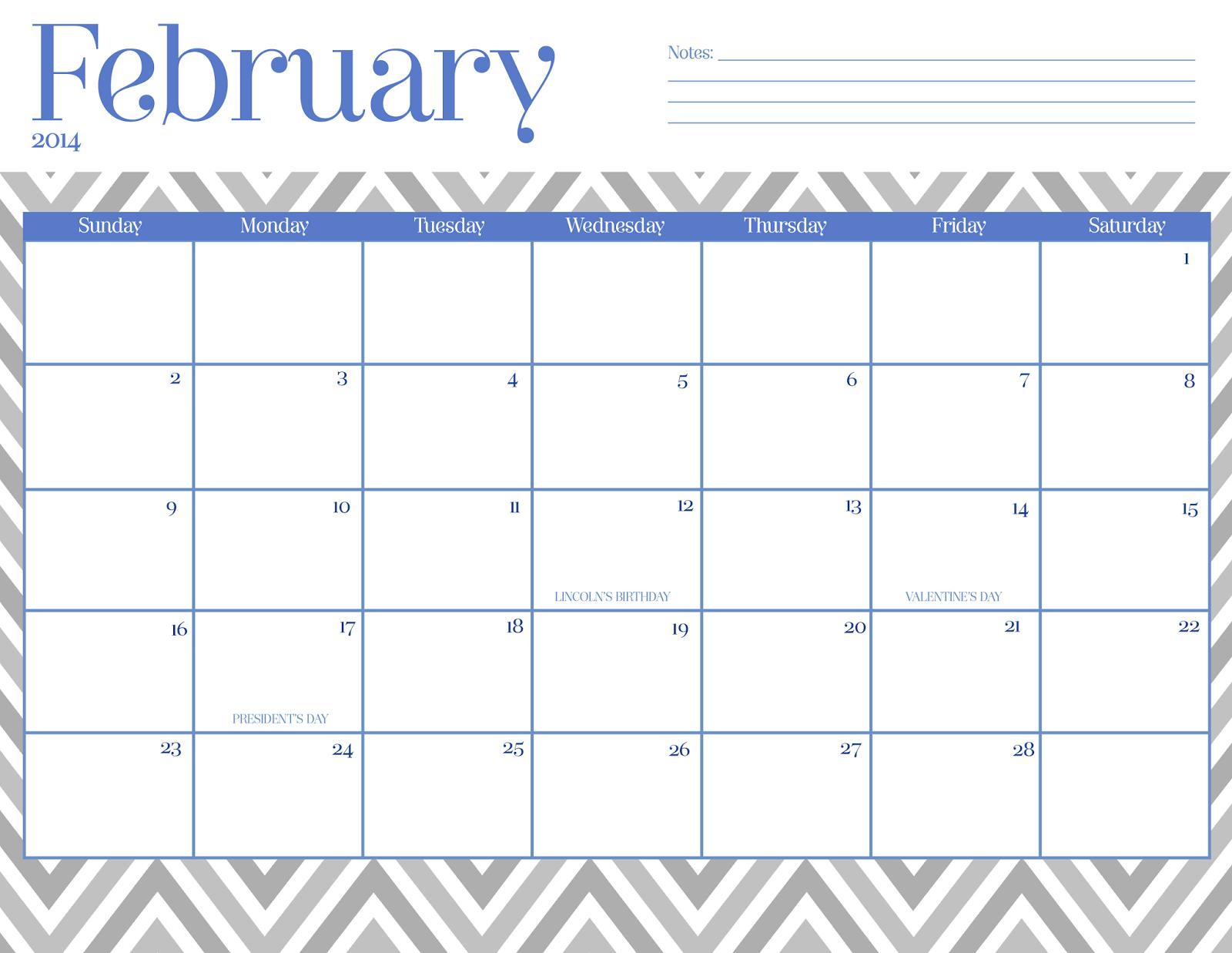 Cute January 2015 Calendar Oh so lovely blog: free