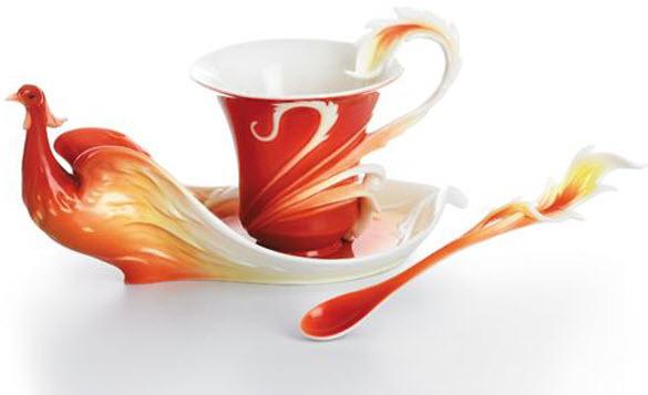 Fun duniya elegant tea cup and saucer designs for Cool tea cup designs
