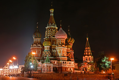 St. Basil's Cathedral, Holiday in Moscow, vacances en Russie