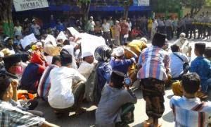 Amankan Aksi Tolak Wahabi, Polres Turunkan 500 Personel