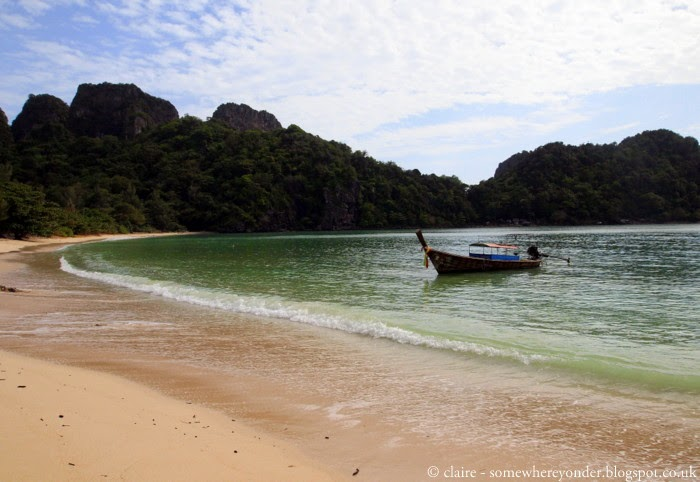 Empty beach - Ko Phi Phi, Thailand