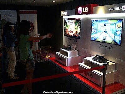 LG Cinema 3D Smart TV Gaming