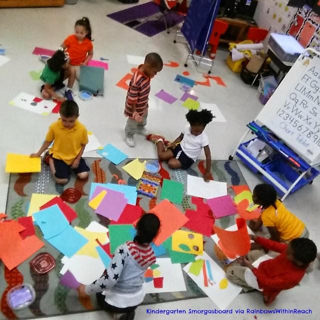 Kindergarten Authentic Art Exploration in Preparation for Author-Illustrator Visit