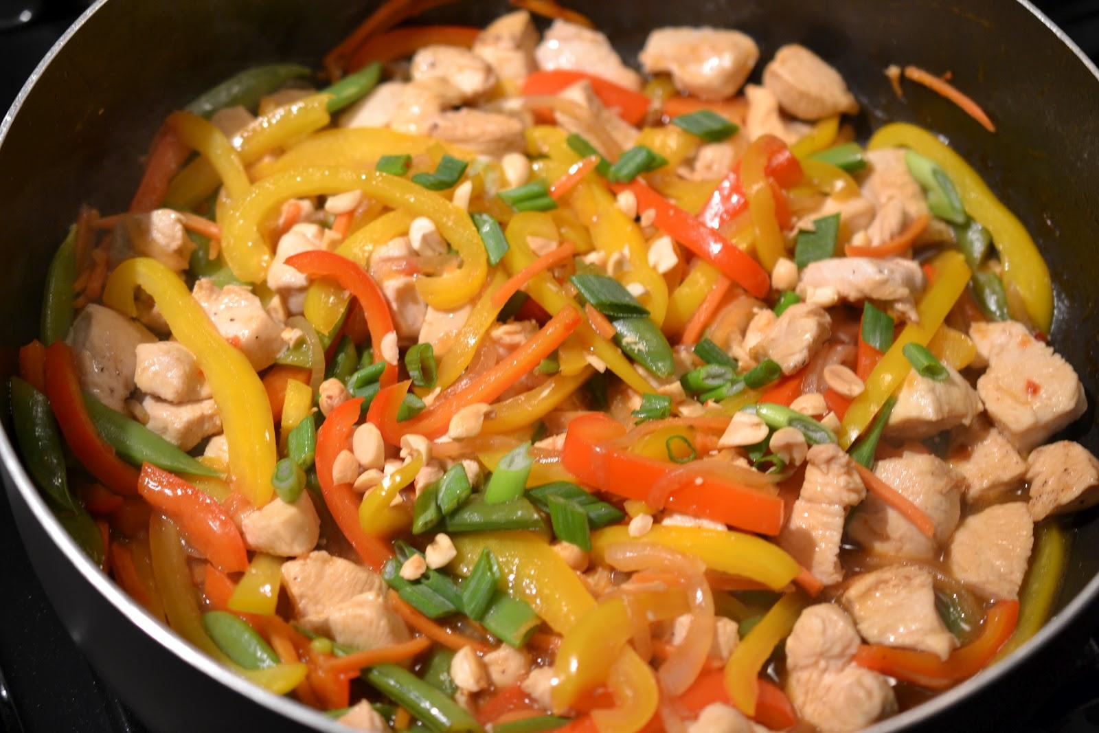 Szechuan Chicken Szechuan chicken stir fry