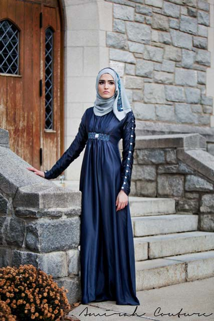 Latest New Hijab and Abaya 2013 Collection For Ladies