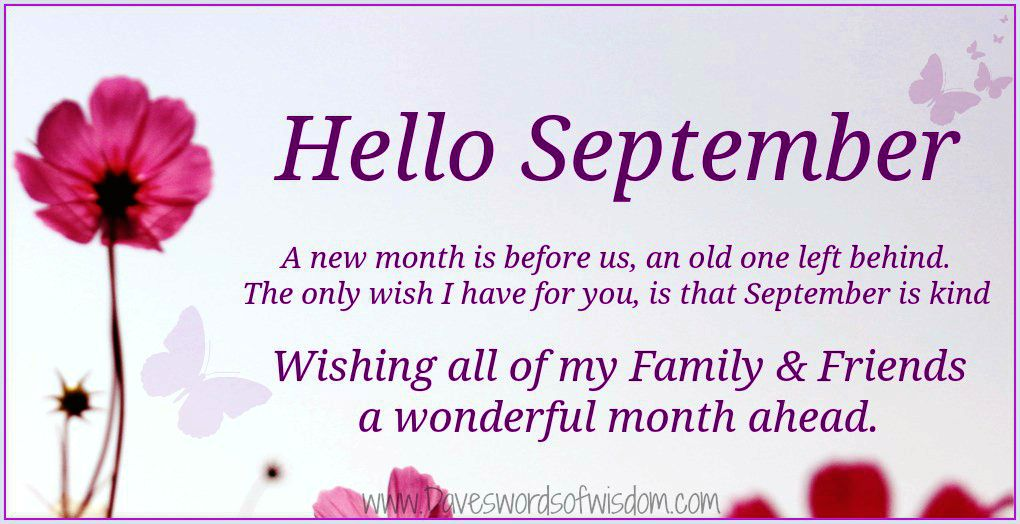 September Please Surprise Me Saying 2