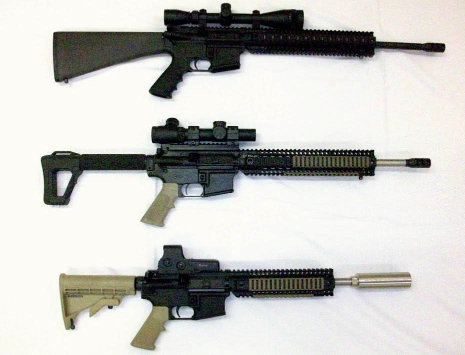 Battle Rifles of the World