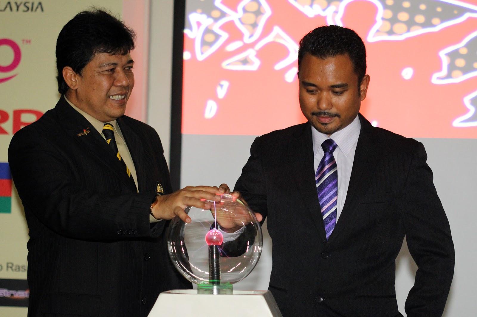 FAM, Datuk Affandi Abdullah, pada majlis pelancaran Liga Fantasi 2013