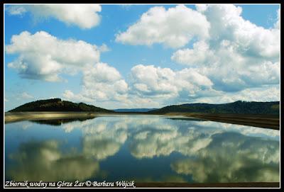 góra żar zbiornik wodny