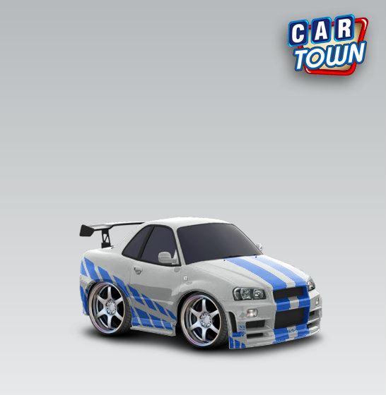 Subaru Template Cartown Cake Ideas And Designs