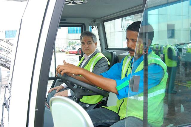 Prem Bajaj, Bhadra Interntational India Airport Ground Handling