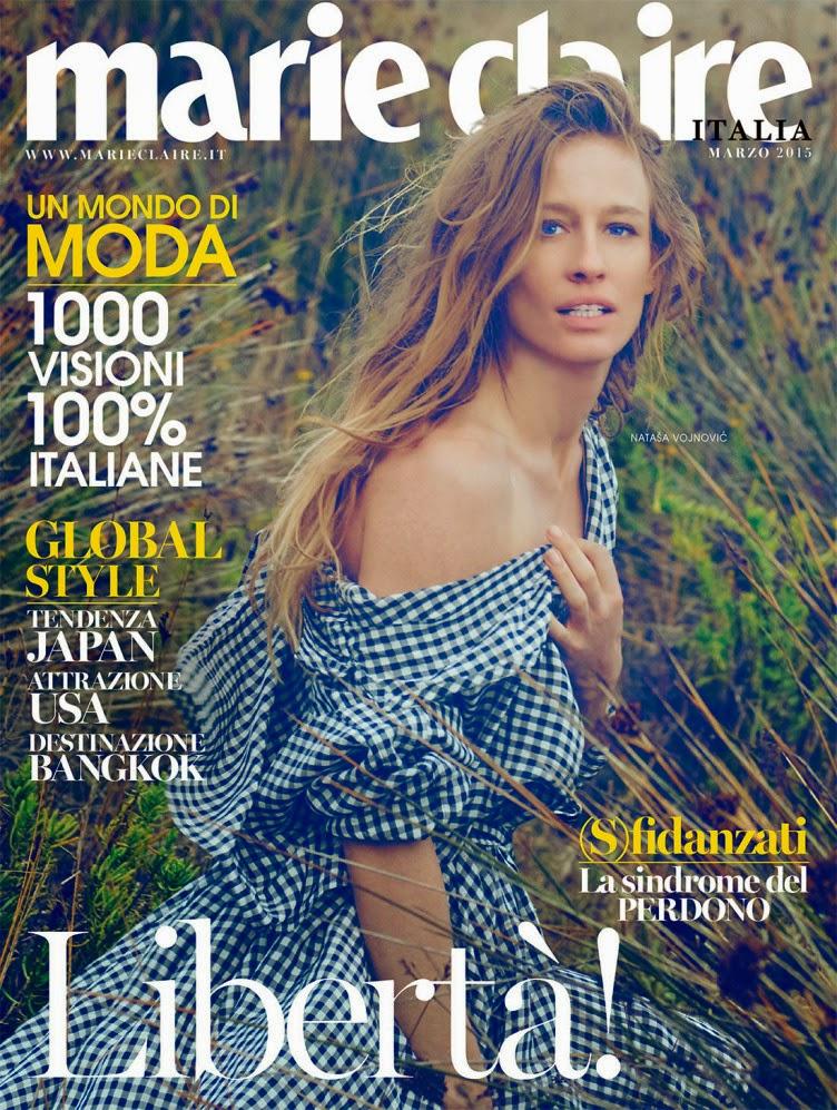 Fashion Model: Natasa Vojnovic by Arnaud Pyvka for Marie Claire Italia