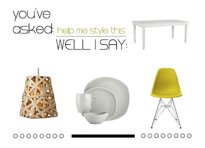 """Help me style this: il vecchio tavolo """"ereditato"""""""