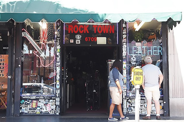 Hollywood Boulevard Rock Town