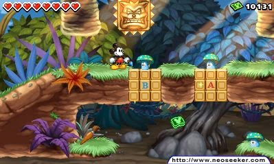 3DS Disney Epick Mickey Power of Illusion Screenshot