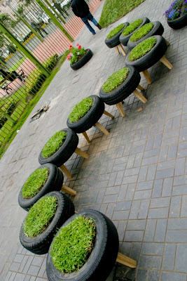 Creative and Cool Ways to Reuse Old Tires (33) 26