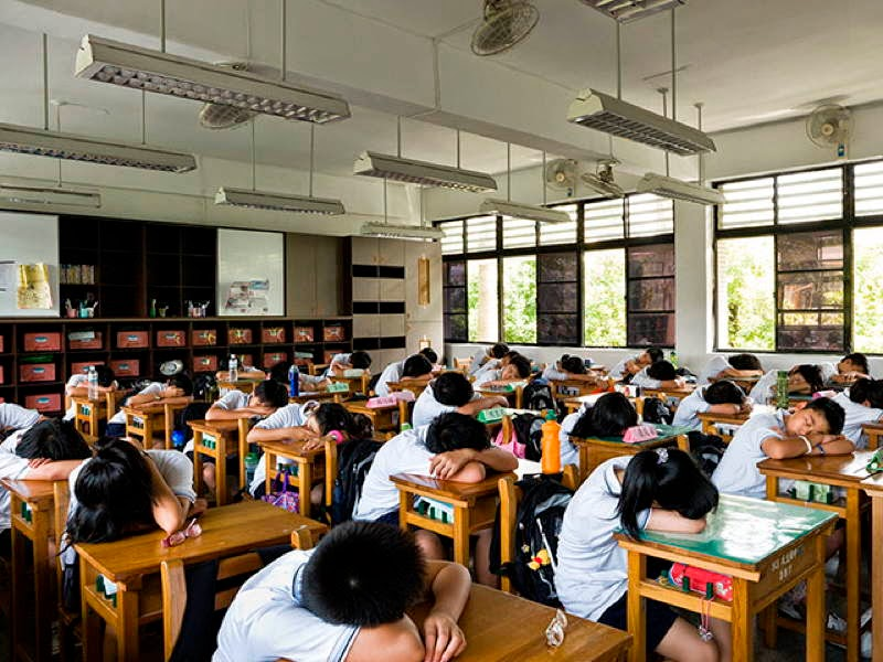 An Eye-Opening Look Into Classrooms Around The World - Taiwan, Min-sheng Junior High School, Taipei