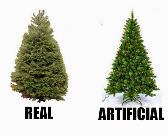when choosing a christmas tree do you want a real tree or an artificial tree a real tree is nice looking smells good and requires water and some clean