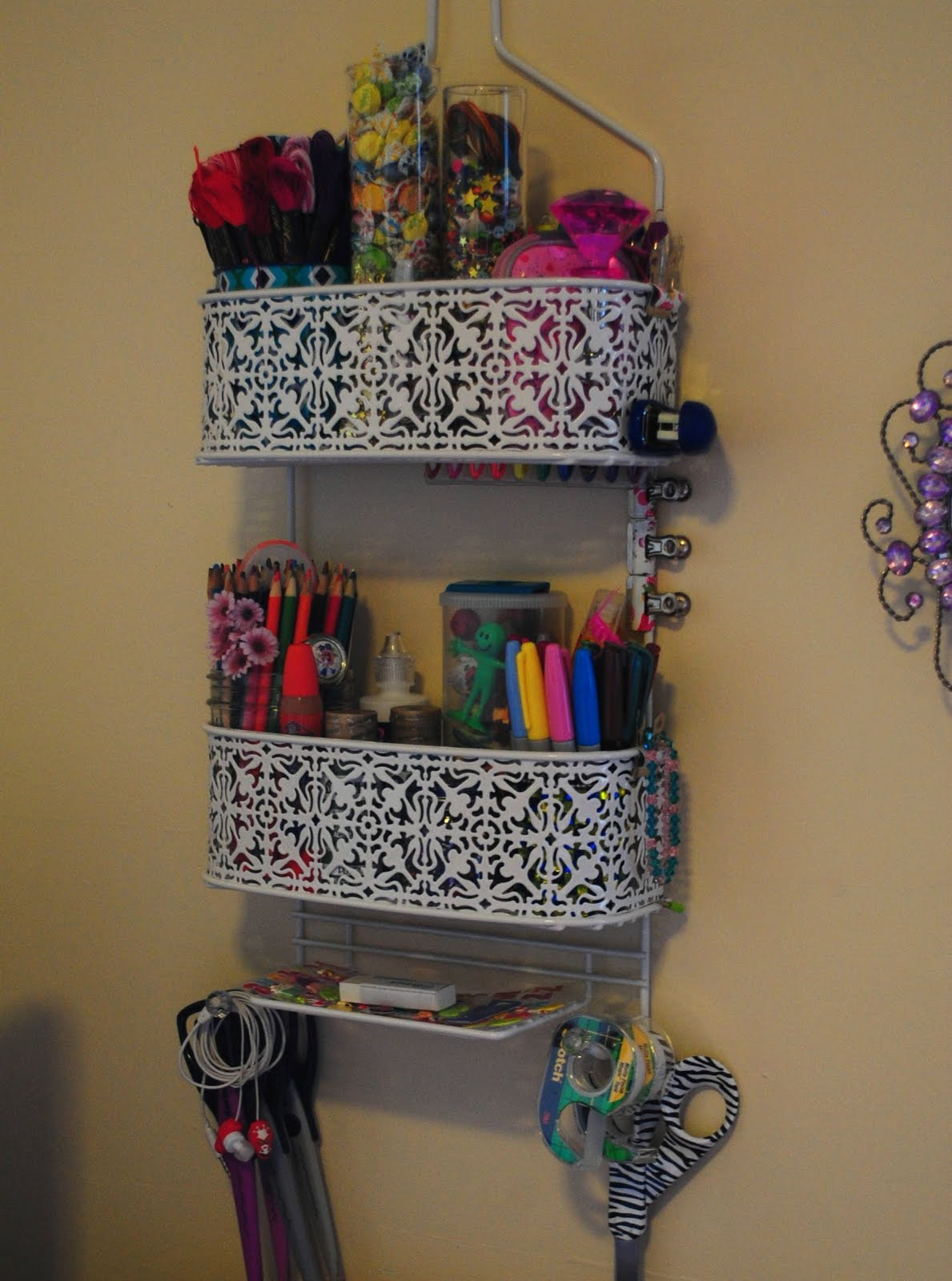 Shower Caddy Storage To Simplify The Home Diy Craft Projects