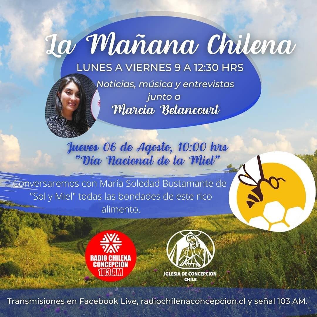 """Programa radial: """"La mañana chilena"""" (Radio Chilena de Concepción 1030 AM)"""
