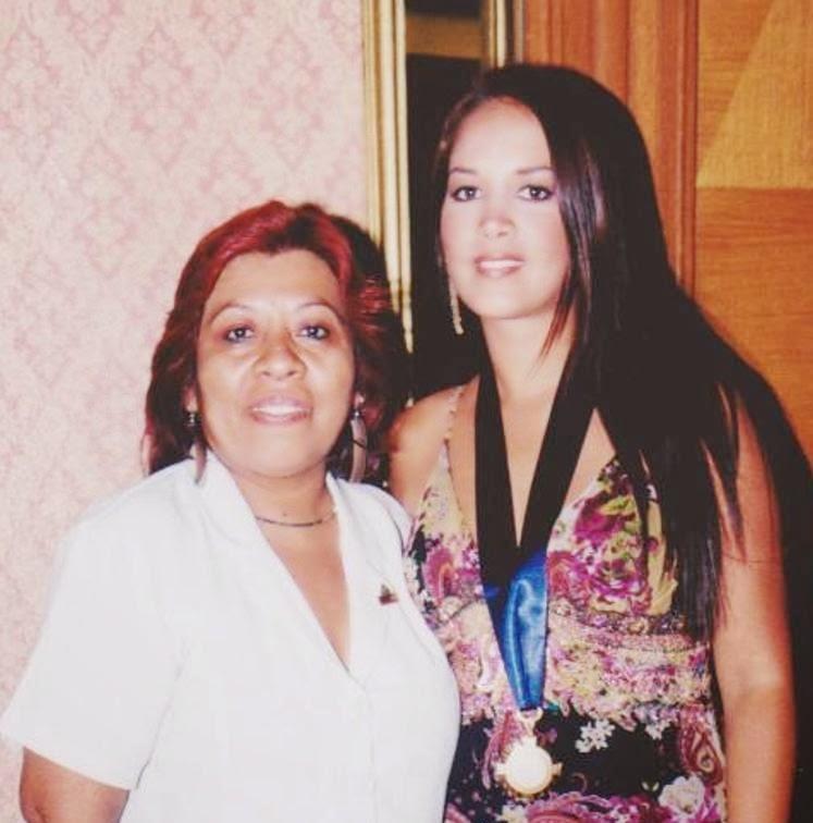 Con Marina Mora