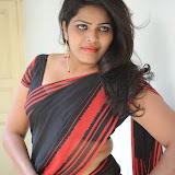 Sitara Hot Photos in Saree at Gundello Guchi Guchi Champake Movie Press Meet 42