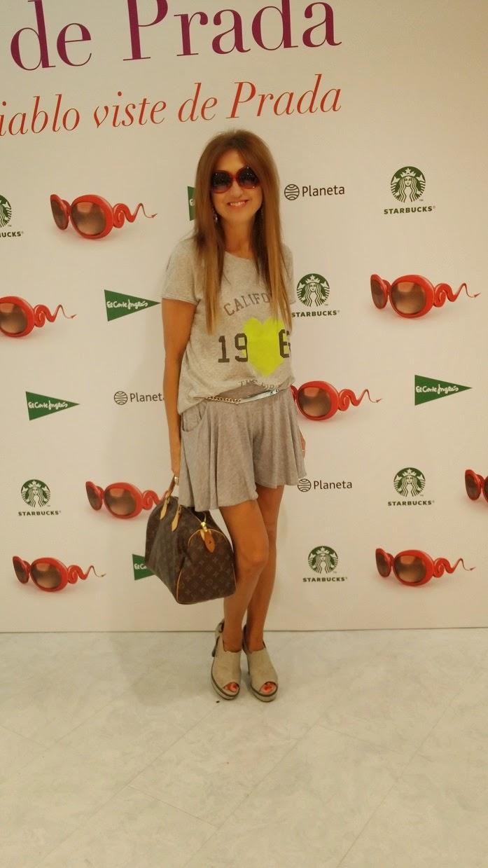 La Venganza Viste de Prada, Lauren Weisberger, Editorial Planeta, El Corte Ingles, Evento Moda, Starbucks, Carmen Hummer, street style, fashion blogger, blog de moda,