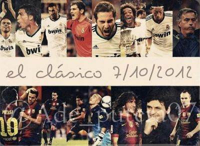 """El Clasico"" Real Madrid vs Barcelona Leg 1 Copa Del Rey (Kamis, 31 Januari 2013)"