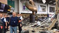 Decenas de muertos tras dos explosiones en el aeropuerto de Bruselas También se registró una explos