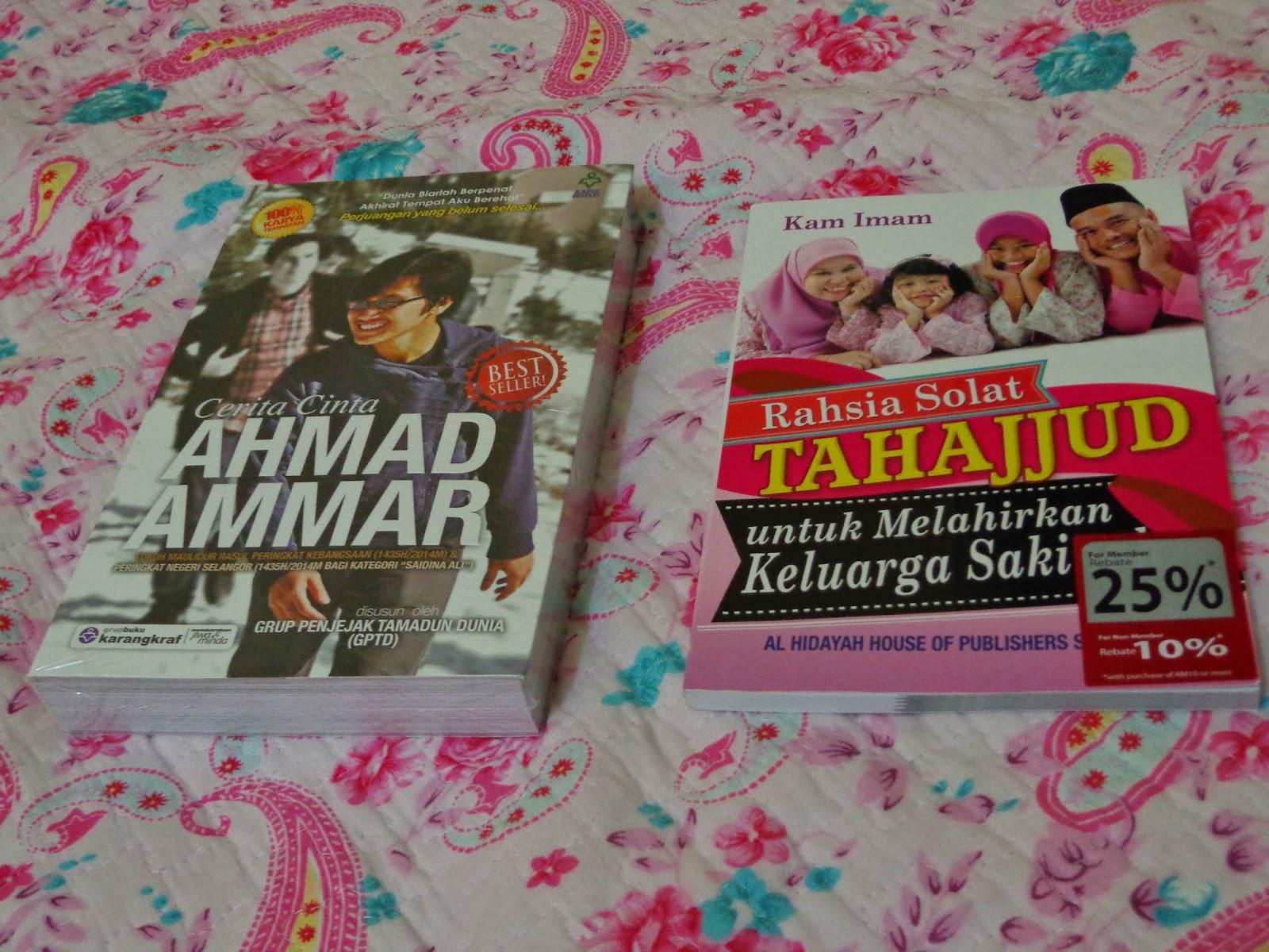 Beli Novel Cerita Cinta Ahmad Ammar Buku Rahsia Solat Tahajjud