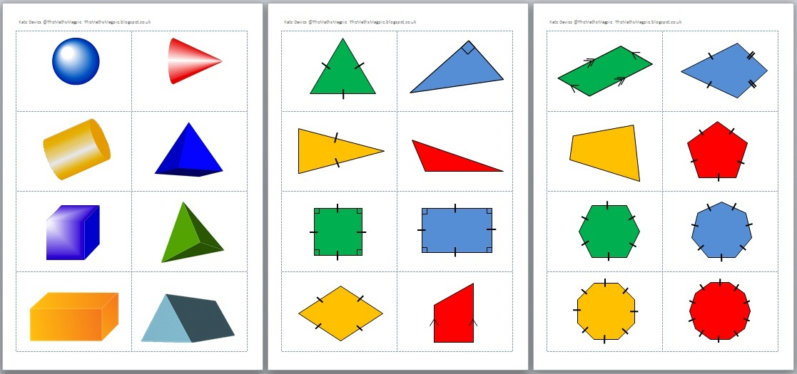 the maths magpie afl show me shape activities