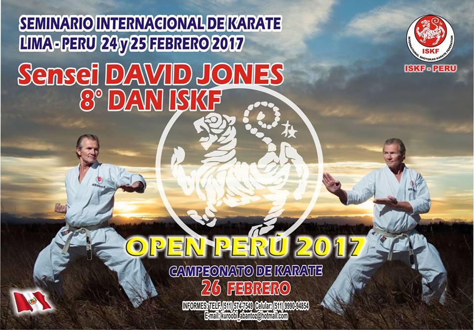 "CAMPEONATO DE KARATE ""Open Peru 2017""  Lima-Perù"