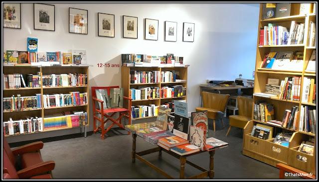 nouvelle librairie Les Mots Et Les Choses 30 rue de Meudon Boulogne-Billancourt
