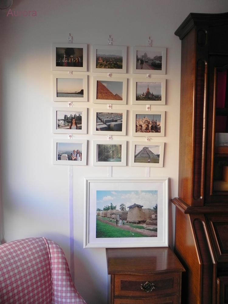 Diy la pared de marcos de fotos de aurora - Ikea marco fotos ...