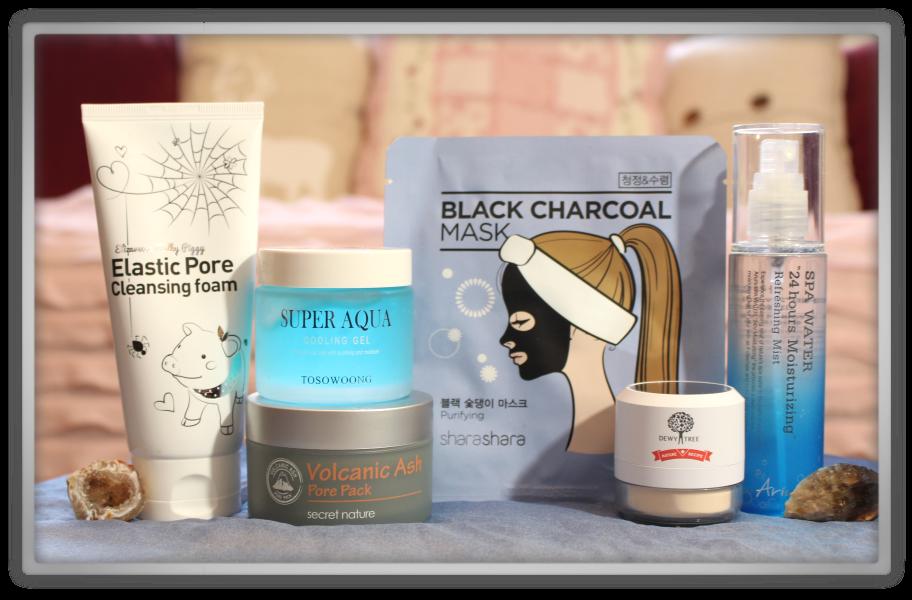 겟잇뷰티박스 by 미미박스 memebox beautybox Special #31 Earth & Sea Cosmetics box unboxing review look inside