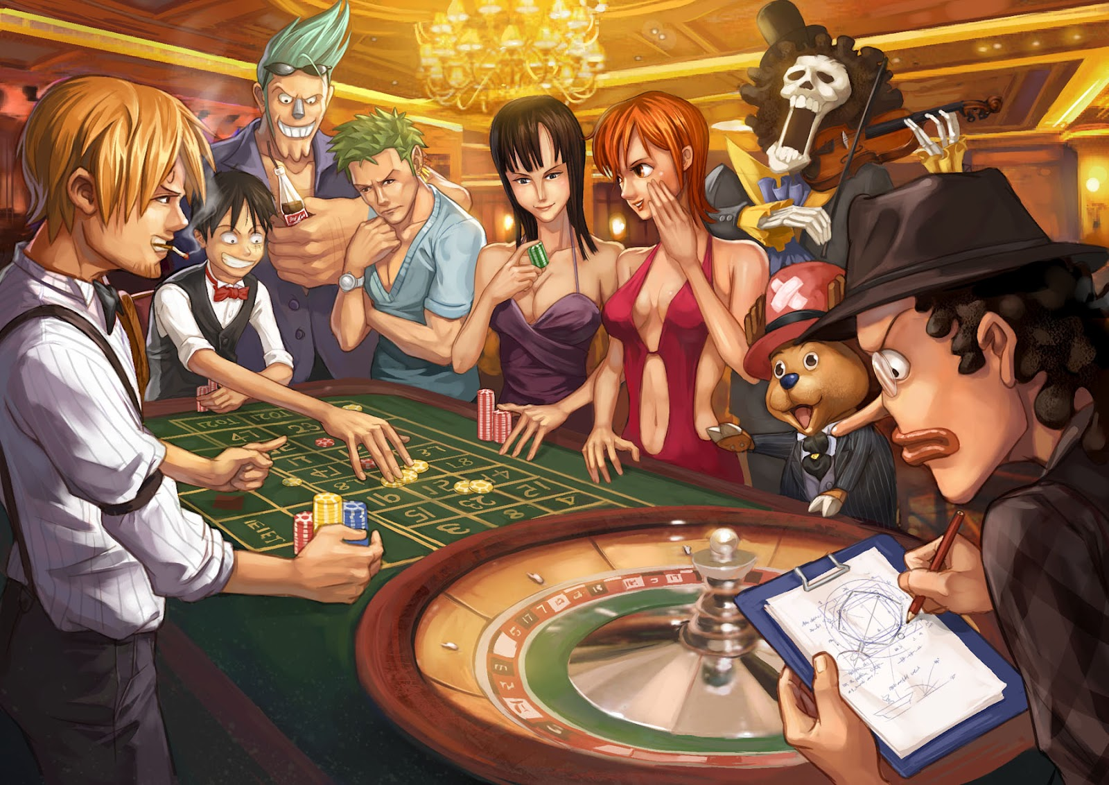 One Piece HD & Widescreen Wallpaper 0.444094645460764
