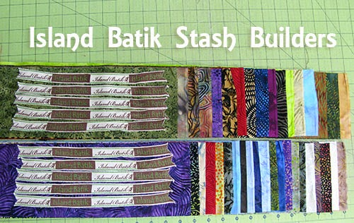 Island Batik Stash Builders at Freemotion by the River