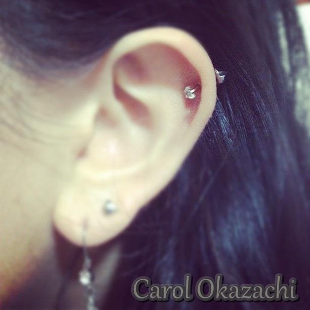 Famosos Like a Sweet Girl: Minha saga dos furos da cartilagem, na orelha EO47