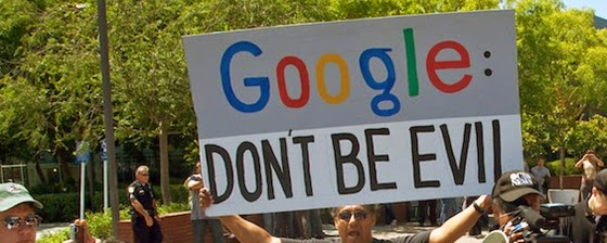 When the big bucks starting flowing, Google got very evil. (Steve Rhodes. Flickr, CC)