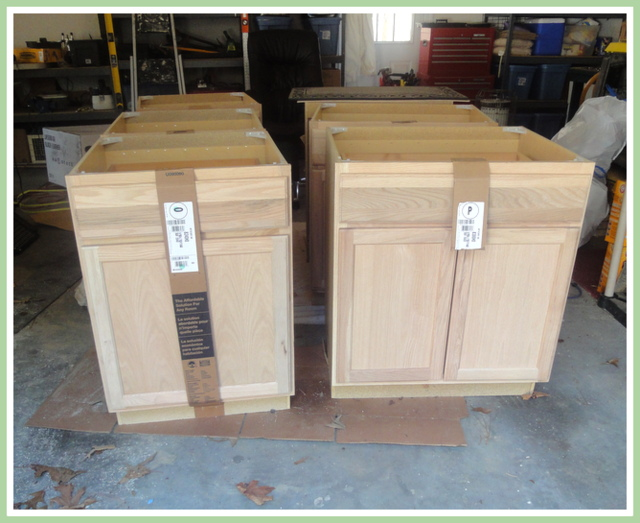 Etonnant Renovation Step #3   Cabinets (Yippee!)