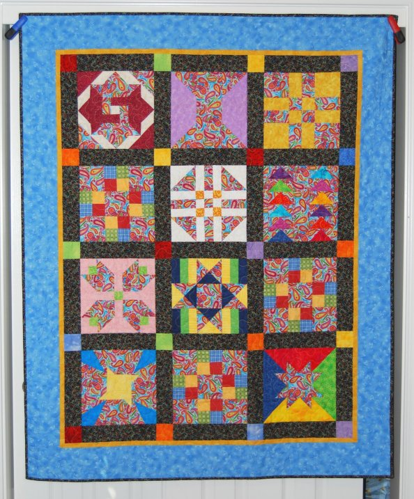 Valerie s Patch-Work: Easy Sashing For Your Quilts