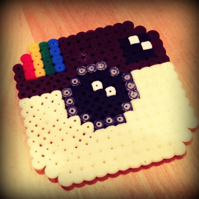Instagram Hama Beads Pattern