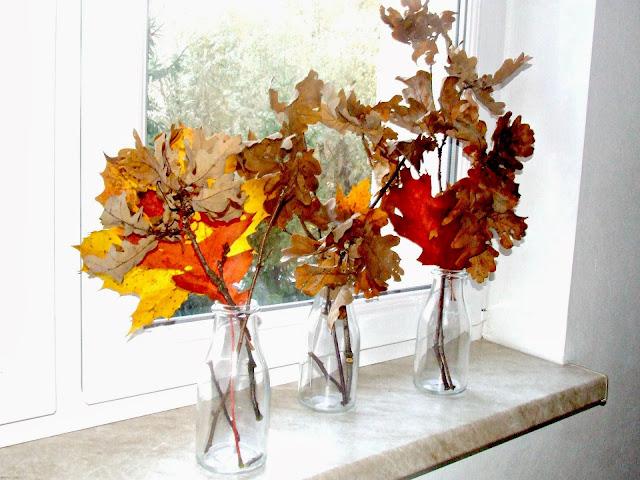 mini dkeoracja jesienna inspiracje DIY
