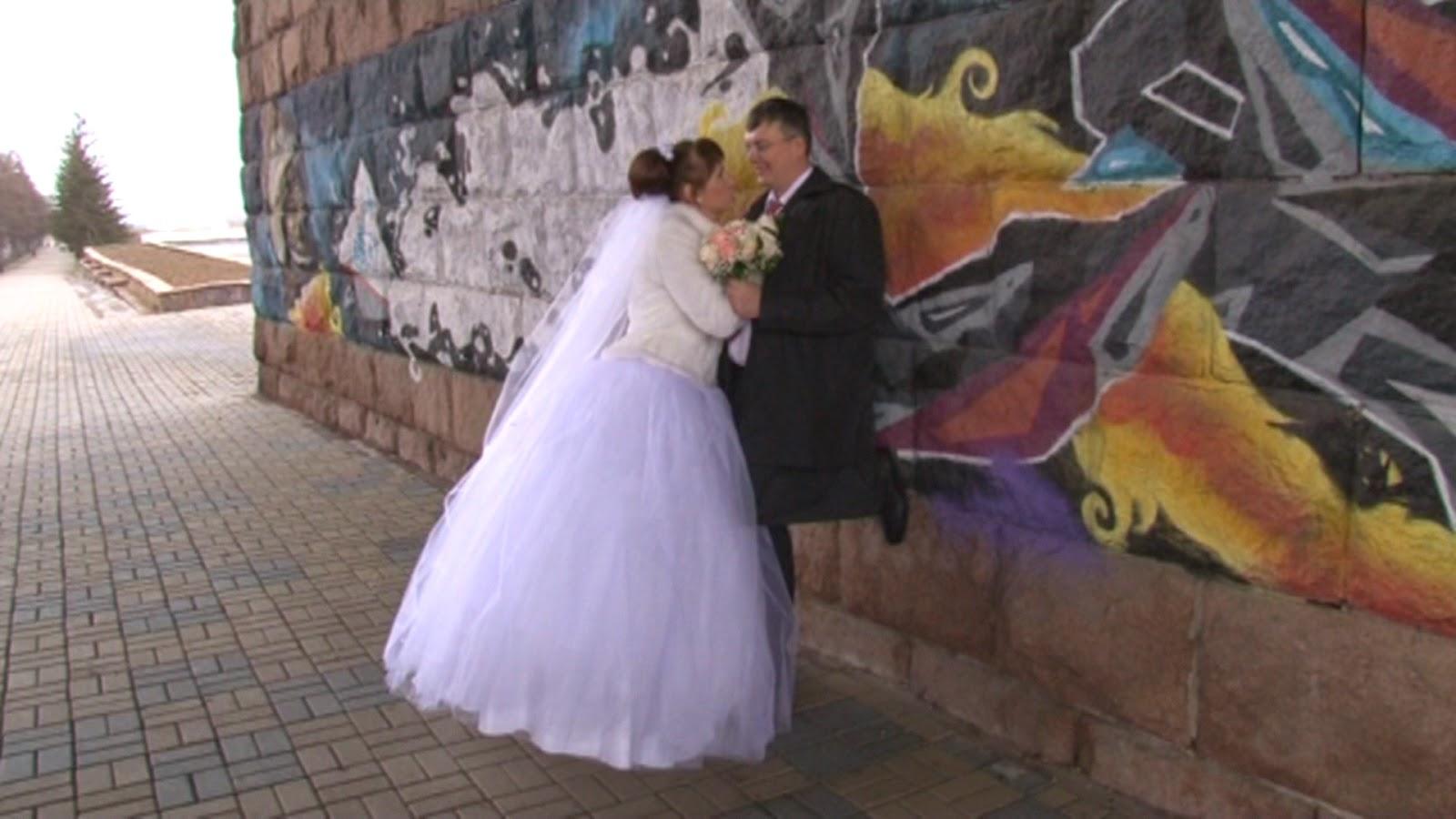 фотосессия на фоне граффити