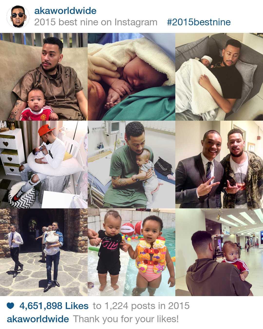 Top Nine Instagram Posts >> aka world wide #2015BestNine on Instagram - The Edge Search