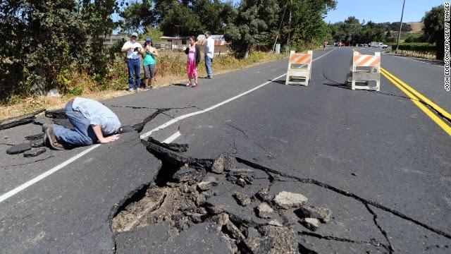 Gempa Bumi Dahsyat Melanda California Amerika