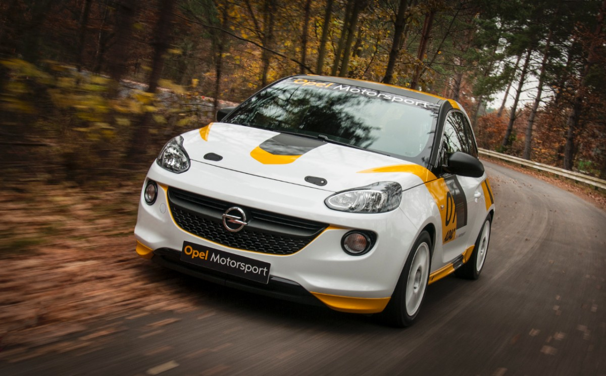 2013 Opel Adam Rally Cup version