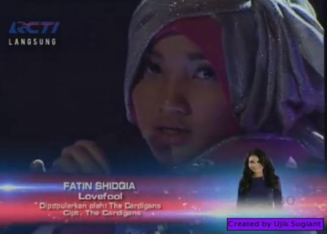 lagu fatin sidqia lovefool gala show 10